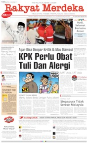 Cover Rakyat Merdeka 12 September 2019