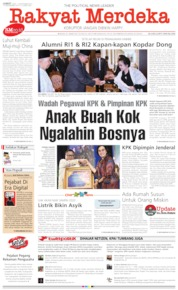 Rakyat Merdeka Cover 13 September 2019