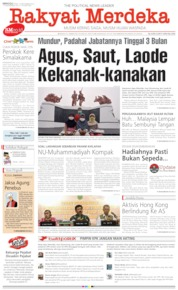 Cover Rakyat Merdeka 15 September 2019