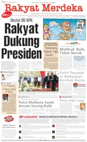 Cover Rakyat Merdeka 16 September 2019