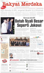 Rakyat Merdeka Cover 17 September 2019