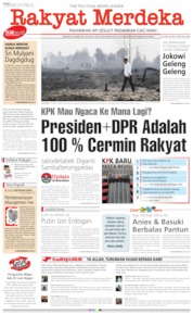 Rakyat Merdeka Cover 18 September 2019