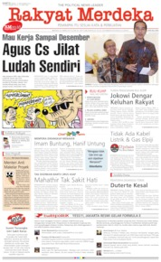 Rakyat Merdeka Cover 21 September 2019