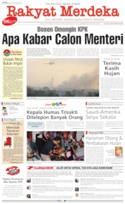 Cover Rakyat Merdeka 23 September 2019