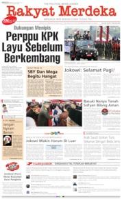Rakyat Merdeka Cover 06 October 2019