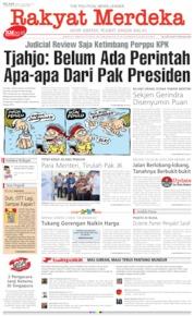 Cover Rakyat Merdeka 08 Oktober 2019