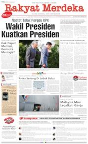 Cover Rakyat Merdeka 09 Oktober 2019
