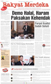 Cover Rakyat Merdeka 10 Oktober 2019