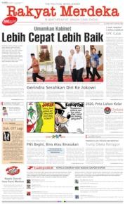 Cover Rakyat Merdeka 17 Oktober 2019
