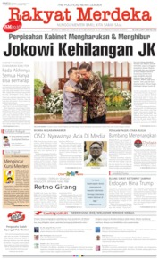 Rakyat Merdeka Cover 19 October 2019
