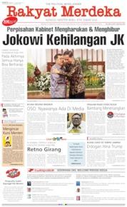 Cover Rakyat Merdeka 19 Oktober 2019