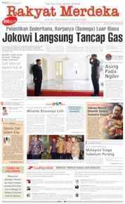 Rakyat Merdeka Cover 20 October 2019