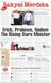 Cover Rakyat Merdeka 23 Oktober 2019