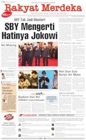 Cover Rakyat Merdeka 24 Oktober 2019