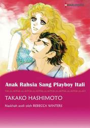 Cover ANAK RAHSIA SANG PLAYBOY ITALI oleh Rebecca Winters