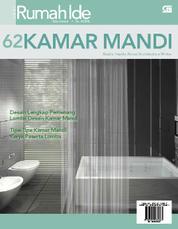 Seri Rumah Ide - 62 Desain Kamar Mandi by Cover