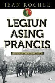 Cover Legiun Asing Prancis oleh Jean Rocher