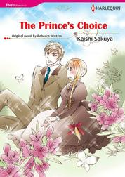 Cover THE PRINCE'S CHOICE oleh Rebecca Winters