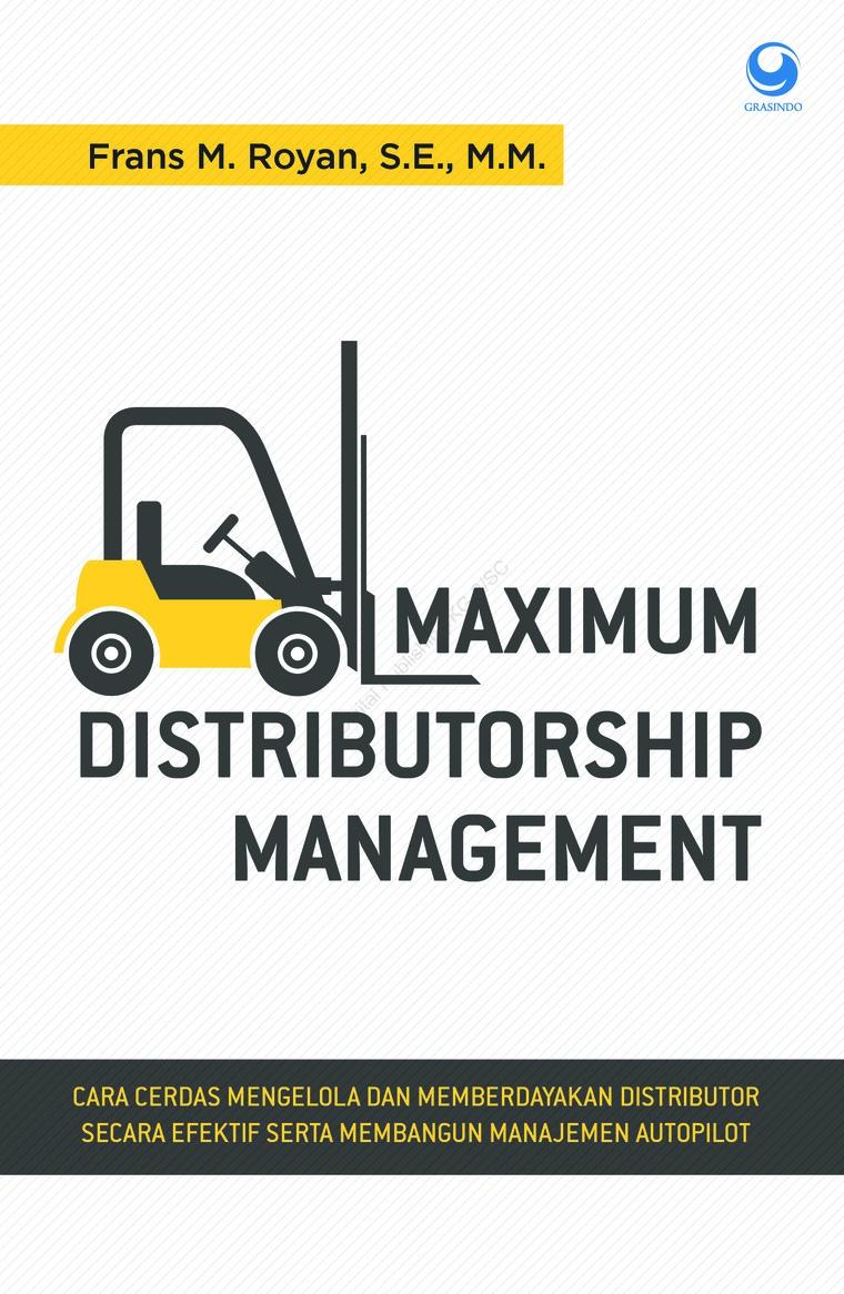 Refrensi buku Distributorship Manajemen