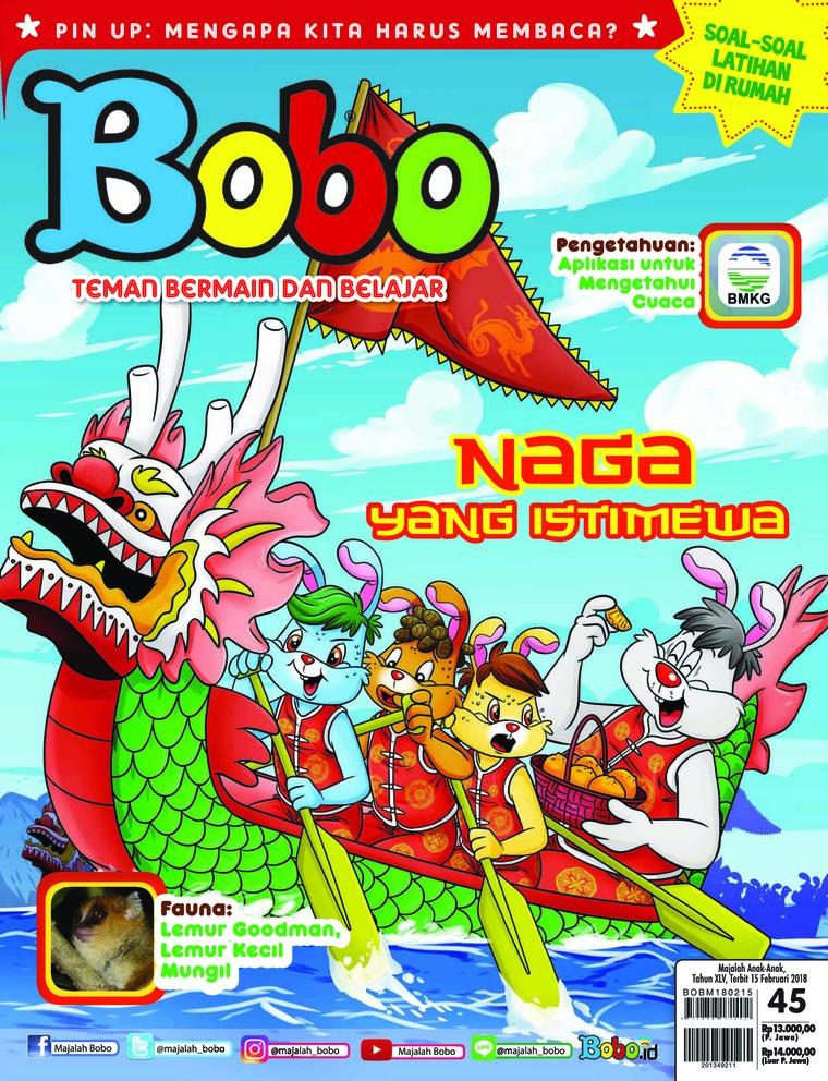 Majalah Digital Bobo ED 45 Februari 2018