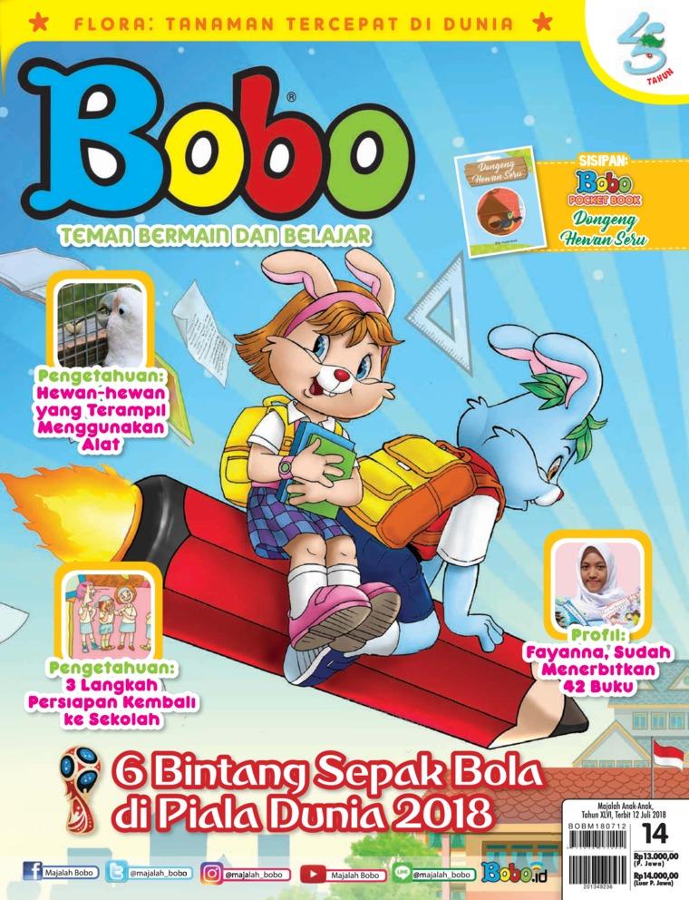 Majalah Digital Bobo ED 14 Juli 2018