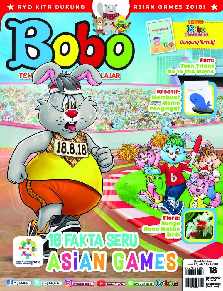 Majalah Digital Bobo ED 18 Agustus 2018
