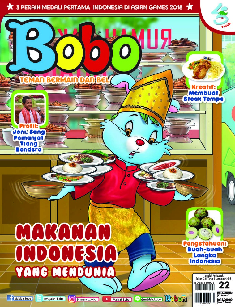 Majalah Digital Bobo ED 22 September 2018