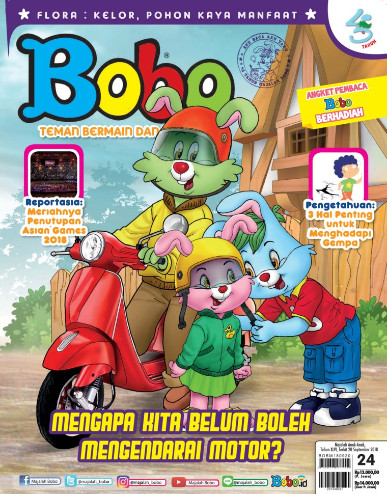 Majalah Digital Bobo ED 24 September 2018