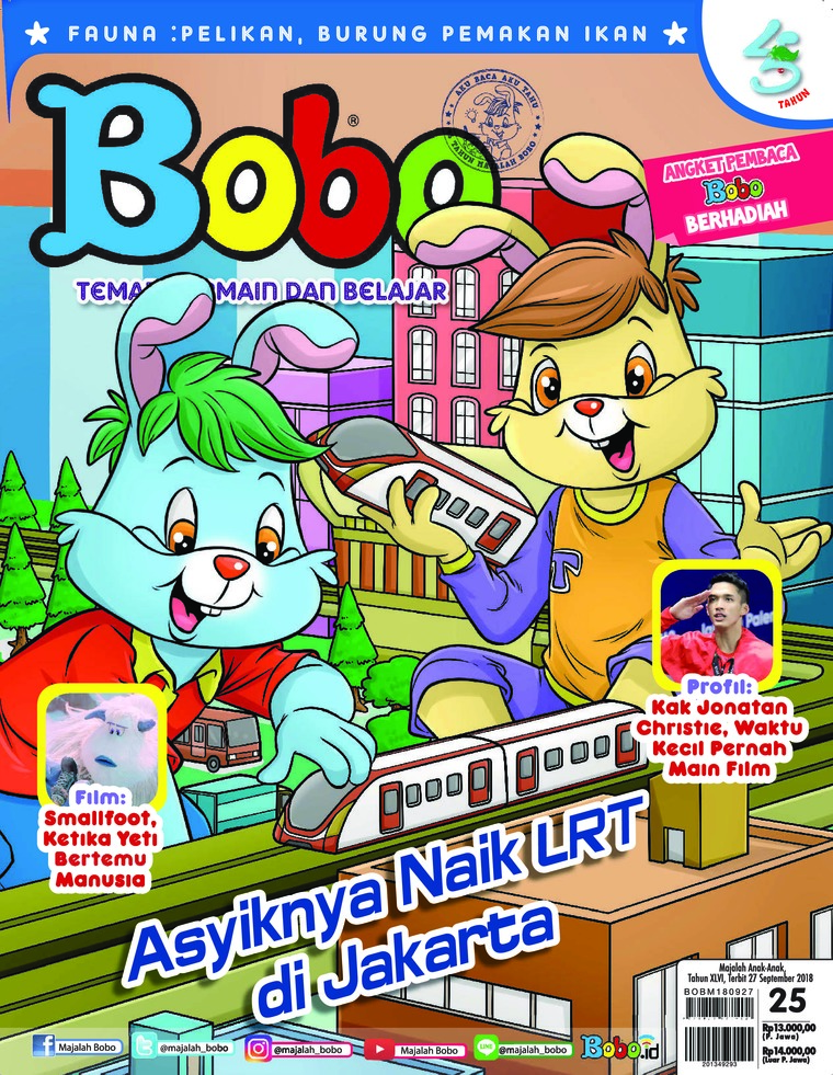 Majalah Digital Bobo ED 25 September 2018