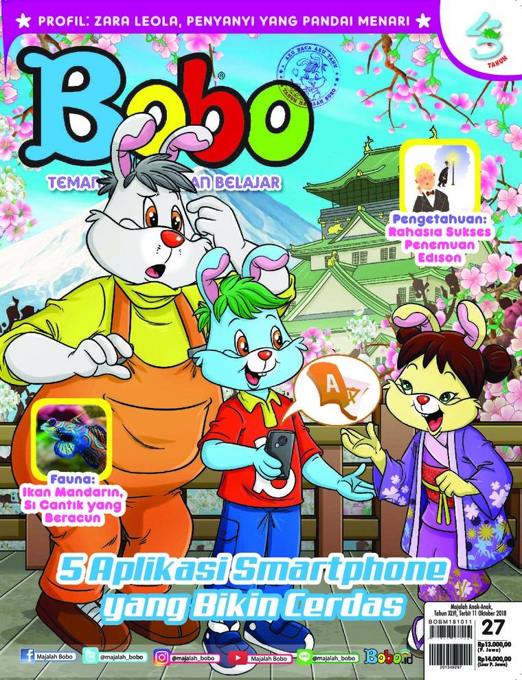 Majalah Digital Bobo ED 27 Oktober 2018