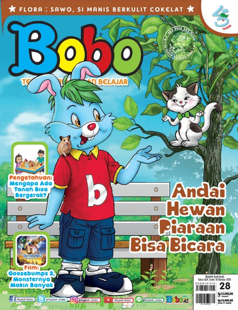 Majalah Digital Bobo ED 28 Oktober 2018