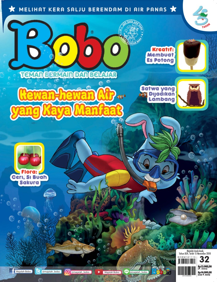 Majalah Digital Bobo ED 32 November 2018