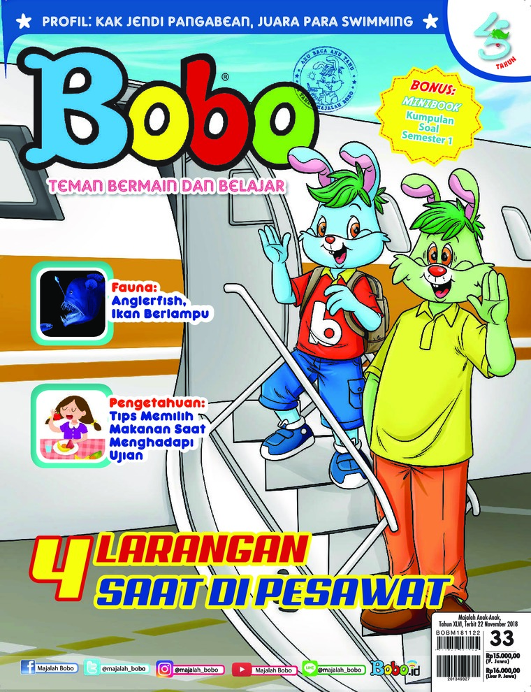 Bobo Digital Magazine ED 33 November 2018