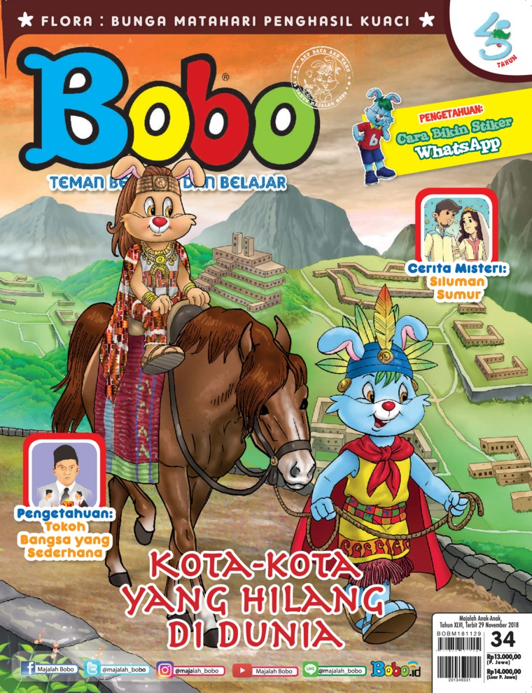 Bobo Digital Magazine ED 34 November 2018