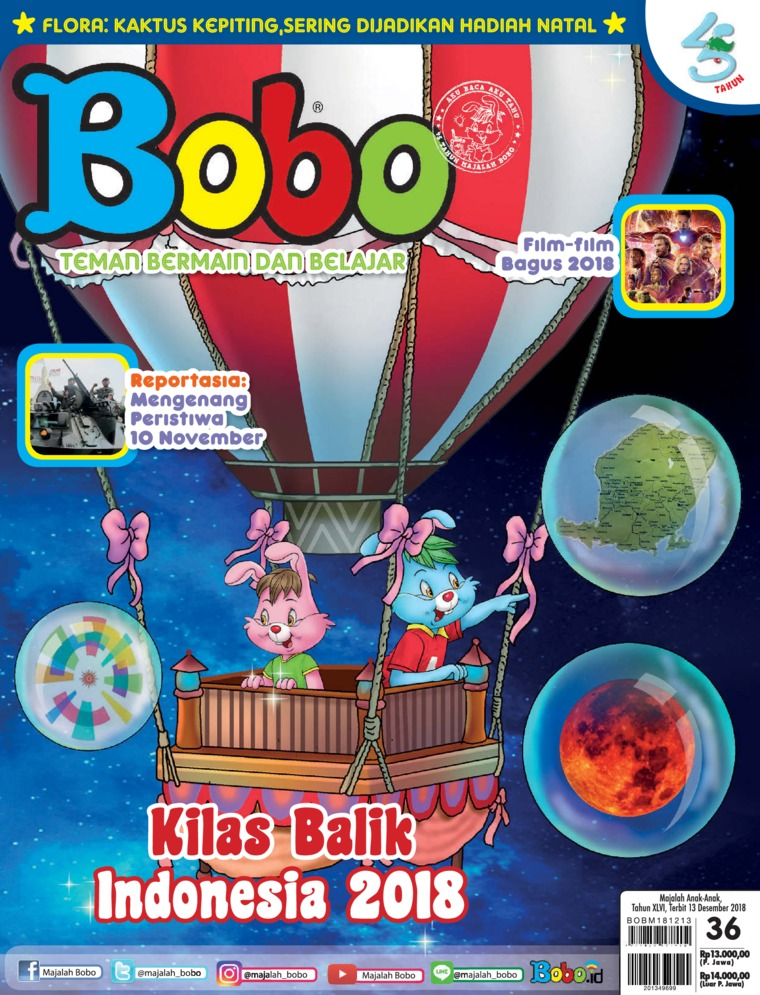 Bobo Digital Magazine ED 36 December 2018
