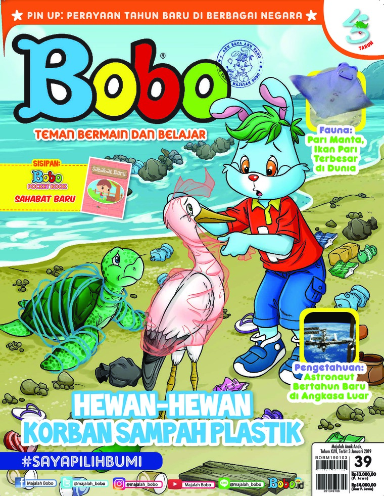 Majalah Digital Bobo ED 39 Januari 2019