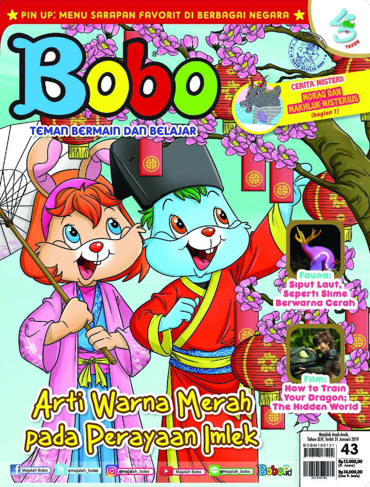 Bobo Digital Magazine ED 43 January 2019