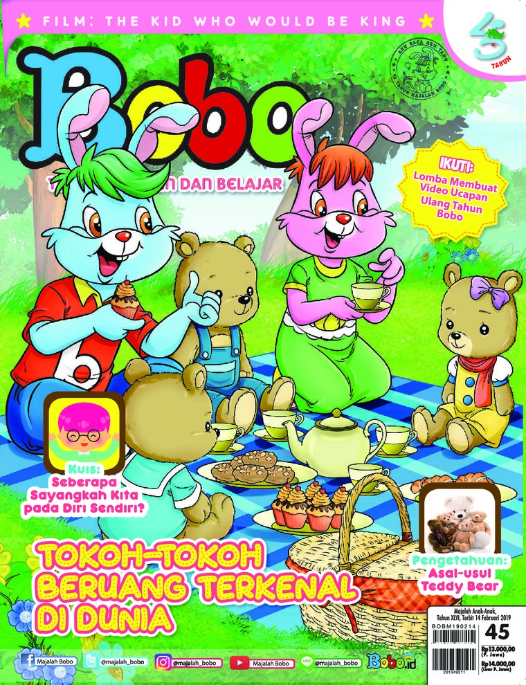 Bobo Digital Magazine ED 45 February 2019