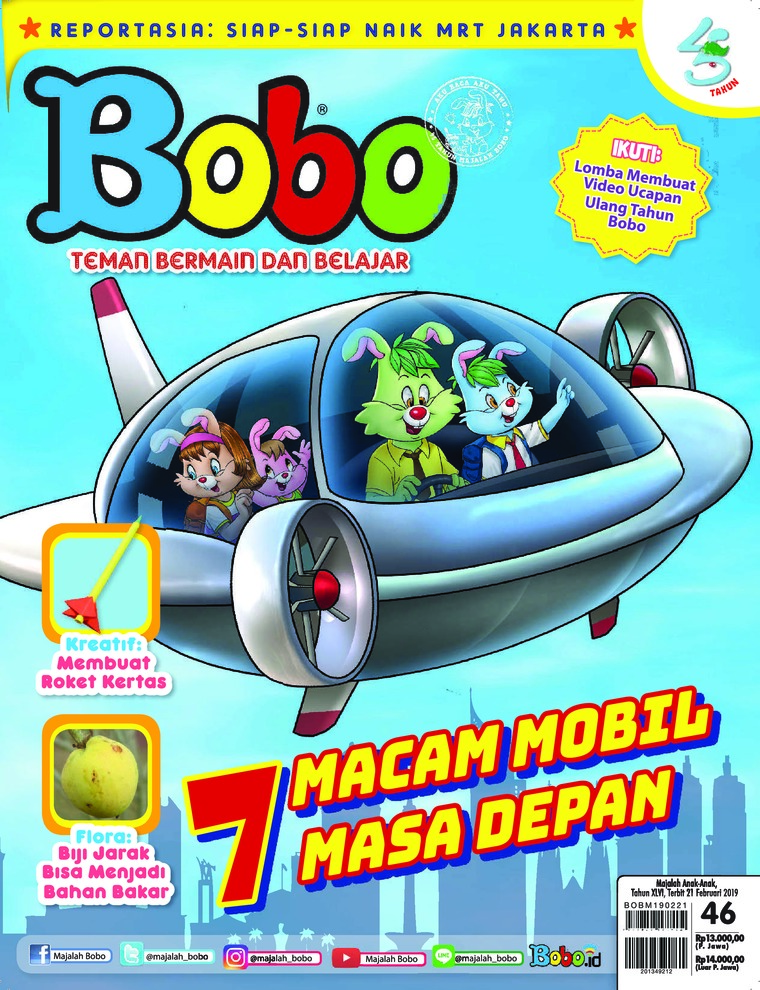 Bobo Digital Magazine ED 46 February 2019