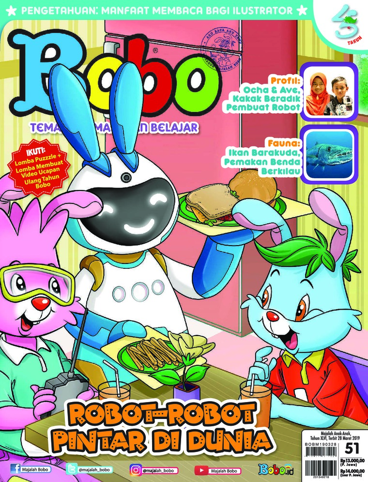 Bobo Digital Magazine ED 51 March 2019