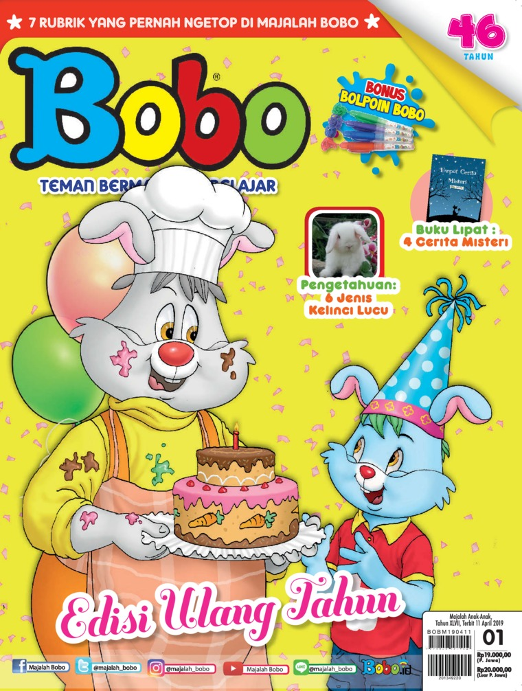 Majalah Digital Bobo ED 01 April 2019