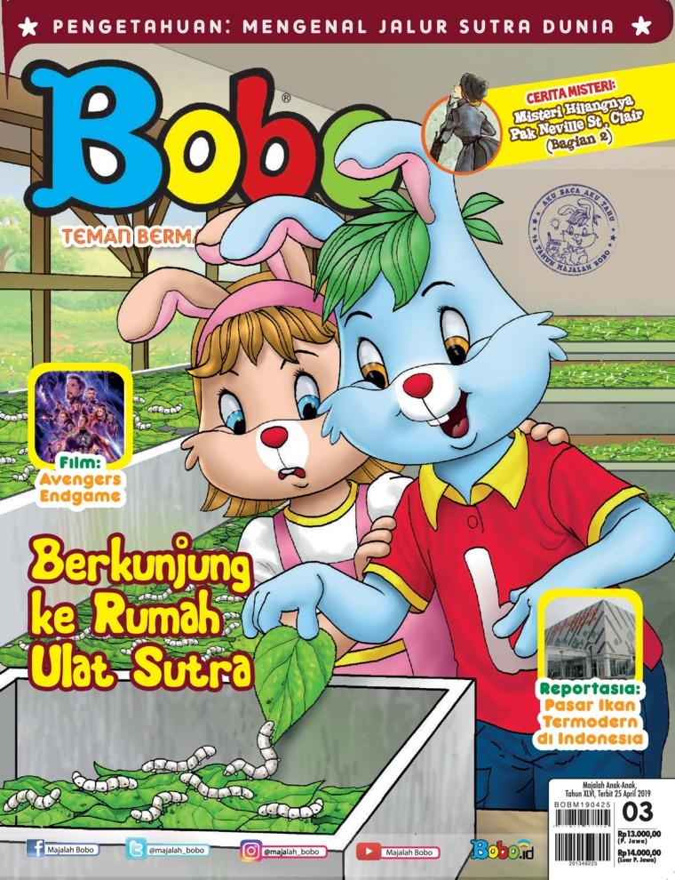 Majalah Digital Bobo ED 03 April 2019