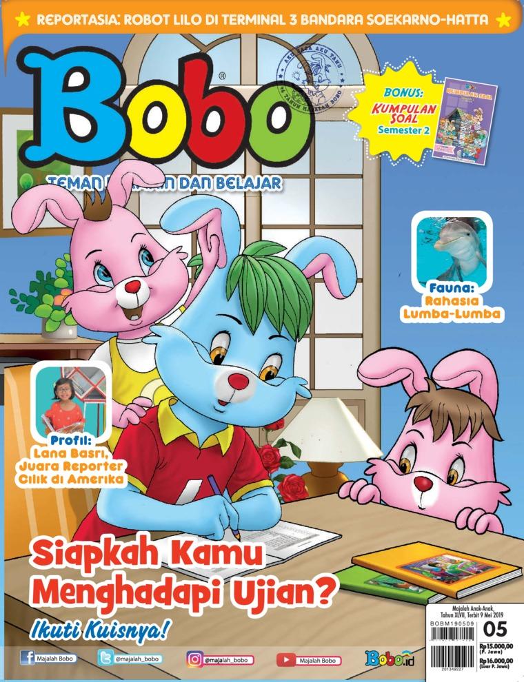 Majalah Digital Bobo ED 05 Mei 2019