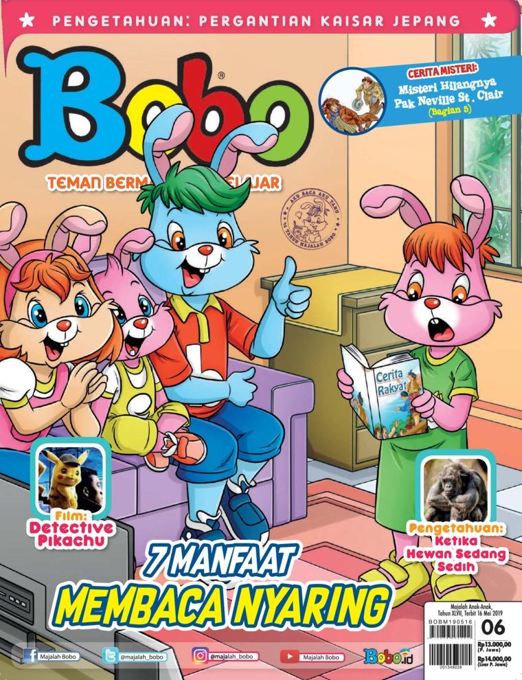 Majalah Digital Bobo ED 06 Mei 2019