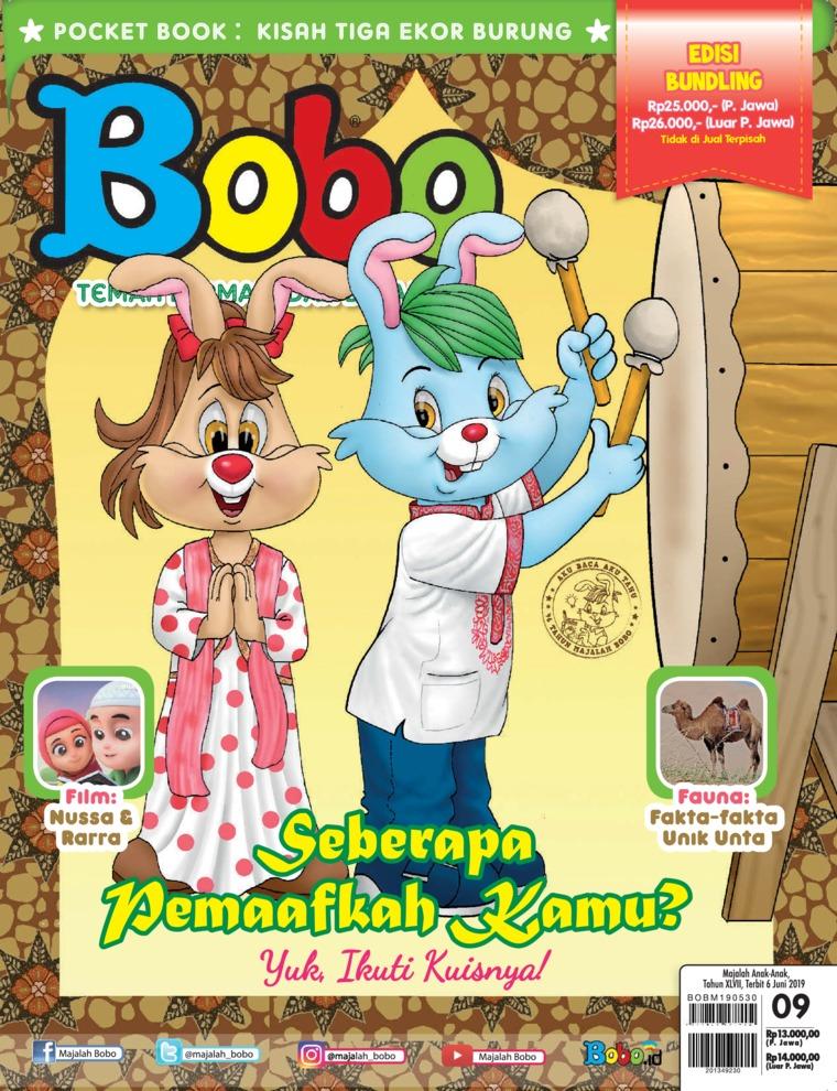 Majalah Digital Bobo ED 09 Juni 2019