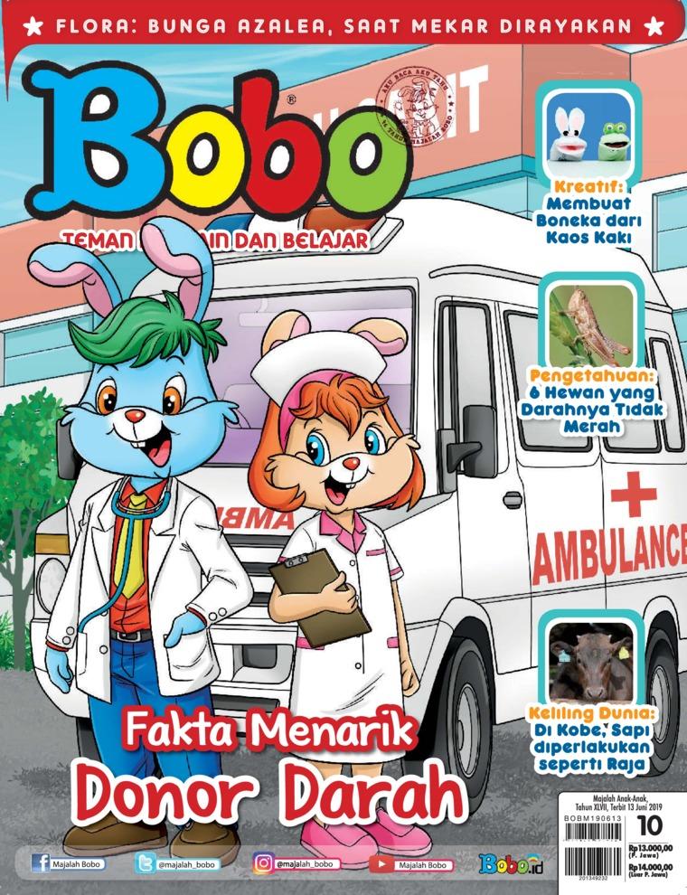Majalah Digital Bobo ED 10 Juni 2019