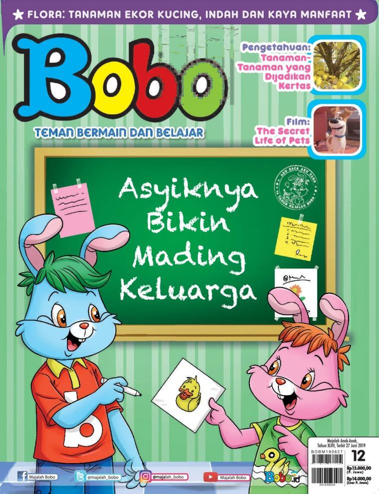 Majalah Digital Bobo ED 12 Juni 2019