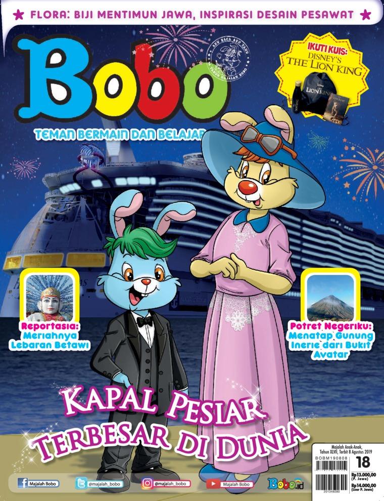 Majalah Digital Bobo ED 18 Agustus 2019