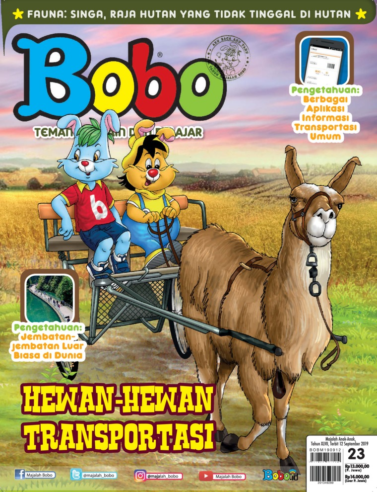 Bobo Digital Magazine ED 23 September 2019