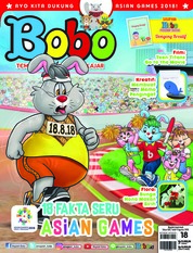 Cover Majalah Bobo ED 18 Agustus 2018